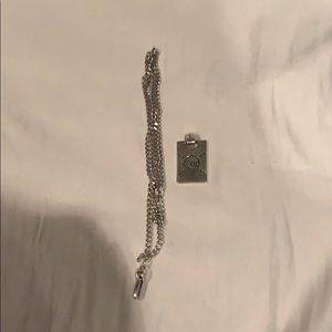 Men Gucci Ghost Necklace